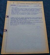 Ferrari circolare TECNICA spare parts #166 Blueprint 1970 No brochure Book Livre