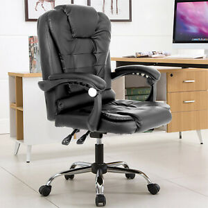 Massage Bürostuhl Chefsessel Schreibtischstuhl Drehstuhl Büro Gaming Bürosessel