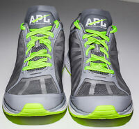 Floor Model Size 11.5 APL Men's Windchill Crossfit Running Shoes Grey Lime Green