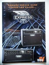 PUBLICITE-ADVERTISING :  Amplis MESA Express 5:50  07-08/2007