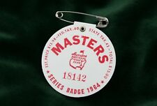 Masters Badges, Masters Golf Tournament - Vintage Badge-1964