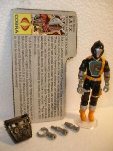 ++++ Gi joe / Cobra BATS w/card 1986 ++++