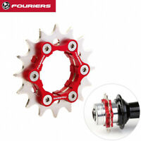 FOURIERS Fix Gear Single Speed Cog fix on Bike Hub Disc 16T 17T 18-23T + Spacers