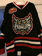 2015-16 Port Huron Prowlers Team Signed Hansen Game Used/Issued Hockey Jersey