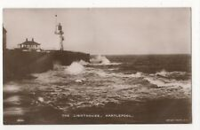 The Lighthouse Hartlepool 1915 RP Postcard