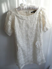 MARC JACOBS ivory silk dress, size S, excelent condition, used