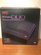 Japanese NEC PC Engine Duo Game Console Japan NTSC J Super CD-ROM2 Core Grafx
