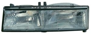 Headlight Assembly-LE Front Left Maxzone 336-1106L-AS fits 1989 Pontiac Grand Am