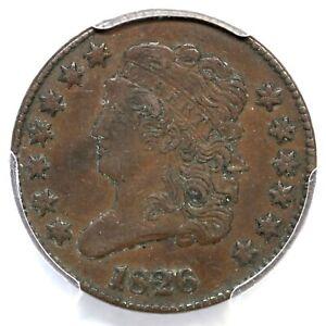 1826 C-2 R-3+ PCGS XF 45 Classic Head Half Cent Coin 1/2c