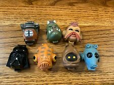 1996 Galoob Star Wars Micro Machines Polly Pocket Face Compacts Lot All Figures!