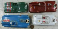Lot of Vintage Slot Car Bodies Stormbecker and Others