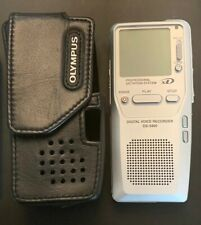 Olympus Ds-3300 Digital Voice Recorder - Tested and Working 1035079 + Case