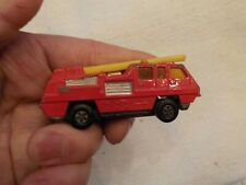 Matchbox Superfast No. 22 Blaze Buster 1975 Lesney Made In England