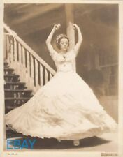 Lorette Young so young and in a ballgown VINTAGE Photo