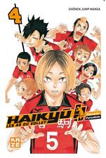 Mangas Haikyu !! Les As du Volley Ball tome 4 Livre Neuf Haruichi Furudate Kaze