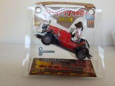 Japan *BANPRESTO 2001* Lupin the 3rd Wind-up tin car with Figure (7.5cm)