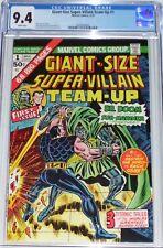 Giant-Size Super-Villain Team-Up #1 CGC 9.4 (March 1975) Dr. Doom & Sub-Mariner