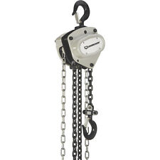 Strongway Manual Chain Hoist - 2200-Lb. Capacity, 20ft. Lift