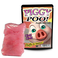 Piggy Poo Cotton Candy - Cute Pig Gift - Funny Poop Joke for Kids - Farmer Gifts