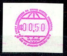 """BRAZIL, RARITY 1979 """"FRAMA STAMP"""" C$00.50, MINT NEVER HINGED **!"""