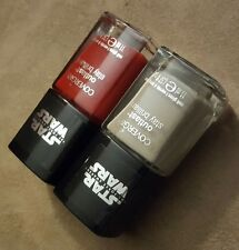 LOT CoverGirl Outlast Star Wars Nail Polish RED REVENGE & SPEED OF LIGHT
