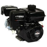 Briggs & Stratton CR950 Engine w/ 3/4 in. Tapped 5/16 - 24 Keyway Crackshaft New