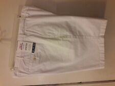 Izod Saltwater Mens Shorts 42 White Cotton Spandex NEW