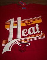 VINTAGE STYLE MIAMI HEAT NBA BASKETBALL T-Shirt 2XL XXL NEW w/ TAG