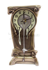 Art Nouveau Melting Clock Sculpture Statue Figurine