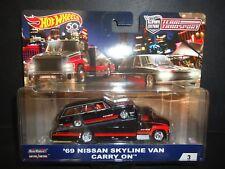 Hot Wheels Carry on Nissan Skyline Wagon ADVAN Team Transport FLF56-956A 1/64 S