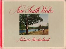 New South Wales Nature's Wonderland BOOK Travel Photography 1950s