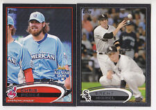 2012 Topps Chris Perez /61 BLACK Parallel Cleveland Indians All-Star