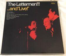 Vintage Vinyl LP THE LETTERMAN.. and LIVE!  record album Capitol
