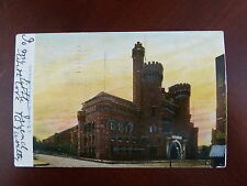 1906 13th Regiment Armory Brooklyn NY Glittered Undivided Back Posted Postcard