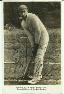 1890-1982 ANDY SANDHAM (Surrey), sepia postcard, ORIGINALLY SIGNED!