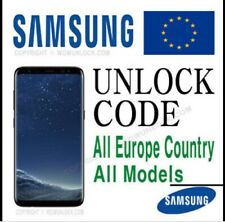 Samsung S10/S9/S8/S7/S6 ALL Models Europe Unlock Nck Code Fast 1to3 Hrs Only✅✅✅