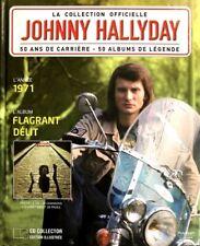 Johnny Hallyday - La Collection Officielle 1971 Flagrant Délit - Livre CD