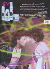 """Wella Shockwaves """"Style Made For Connection"""" 2004 Magazine Advert #3580"""