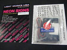 """Miller Engineering Electroluminescent """"Neon"""" Sign - GE Appliances 338835"""