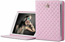 Luxury Crown Slim Smart Wake Leather Case Cover Wake Up/Sleep - Ipad Pro 9.7 in