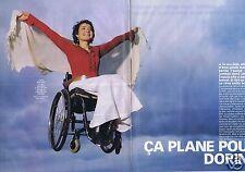 Coupure de presse Clipping 2002 Dorine Bourneton (4 pages)
