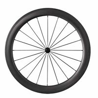 700C 50mm+88mm Tubular Road Bike Carbon Wheels Bicycle Ultra Light Wheelset