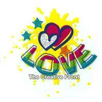 LOVE Hearts - DIY Iron On Glitter T-Shirt Heat Transfer - NEW