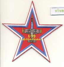 "L-39 Aero Vodochody Albatros ""Russian Star"" Fighter Patch (Albatros Script)"