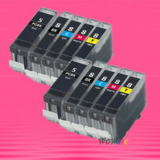 10 NON-OEM INK alternative for CANON PGI5 CLI8 PIXMA iP4200 iP4300 iP4500