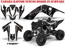 AMR RACING DEKOR GRAPHIC KIT ATV YAMAHA RAPTOR YFM 125/250/350/660/700 REAPER B