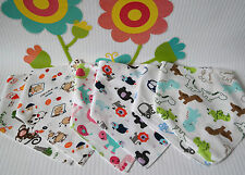 Unbranded Cotton Baby Dribbles/Bandana Bibs Cloths