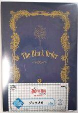 D.gray-man Hallow Note Book Memo Black Order Blue Katsura Hoshino Anime F/S