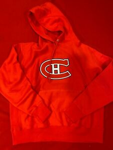 Champion Montreal Canadien Reverse Weather Sweatshirt/Hoodie - XL