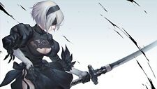POSTER NIER: AUTOMATA NIER ANDROID YORHA 2B 9S A2 ROBOT GAME GIOCO PS4 FOTO #1